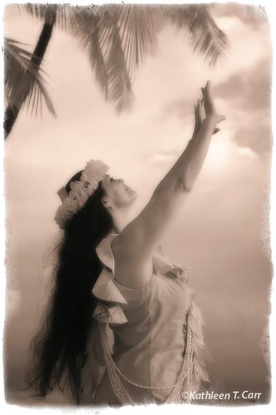 Mahina, Hula Dancer