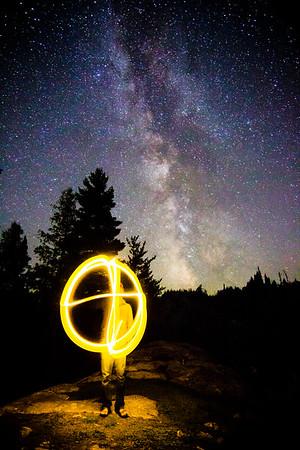 Circle, Milky Way