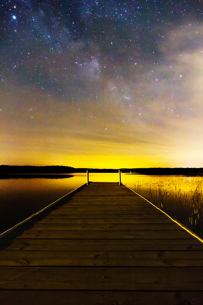 Dock and Stars