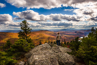 Mount Norris Summit in Fall