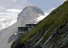 Kaiser-Franz-Josefs-Hohe (visitor center) - Mittlerer Burgstall - both along the slope of the Fuscherkarkopf - with the snow covered slope of the Johannisberg in the distal background - Hohe Tauern National Park