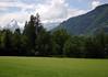 Kitzsteinhorn, rising to 10,509 ft. (3,203 m) - from Windischlehen