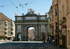 Triumphpforte (Triumph Arch) - was built by Emprees Maria Theresien to commemorate the marriage of her son, Leopold II with Maria Ludovica from Spain - Innsbruck