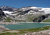 Margartizen Stausee - catchment reservoir in the Alps, at about 6,560 ft. (2,000 m) - Hohe Tauern National Park