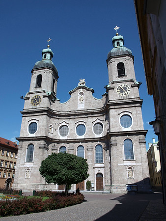 Dom St. Jakob (St. Jacobs Cathedral) - built from 1717-1724 - Innsbruck