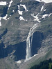 Waterfall along the east face of the Grossglockner - Hohe Tauern National Park