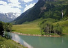 Into the Hohe Tauern National Park - Fuscher Ache (river) - Fuscher Valley - Walcher Bach (stream), flowing from Hoher Tenn Mountain