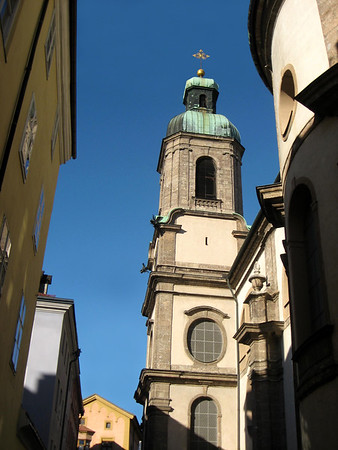 Steeple of the St. Jacobs Cathedral - Innsbruck