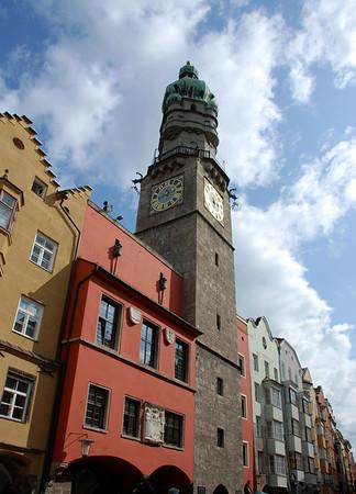 Stadtturm (City Tower) - completed in 1450 - Innsbruck