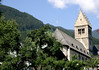 St. Hippolyte Pfarrkirche (parish church) - 11th century Romanesque construction, the tower was completed about two centuries later - in town of Zell am See