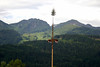 May Pole - wooden pole erected as a part of various European folk festivals