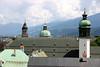 Jesuite Church Steeples & Dome - Court Church Steeple - Innsbruck