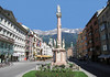 Annasaule (St. Anne's Column) - raised in 1703, the column is 43 ft. (13 m) high, and is dominated by the statue of the Madonna - on each of the four corners of the column lies the statue of a Saint: Saint George, the old patron saint of the region; Saint Cassiano and Saint Vigilio, the two patron saints of the dioceses, and Saint Anne, from which the monument took its name - the column was raised to commemorate the lucky victory over the Bavarian troops