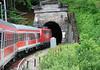 East bound train from Innsbruck