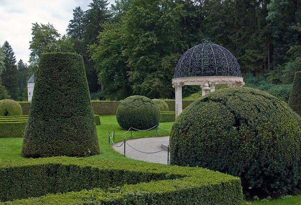 Garden at the Schloss Abrams (Abrams Castle) - Innsbruck