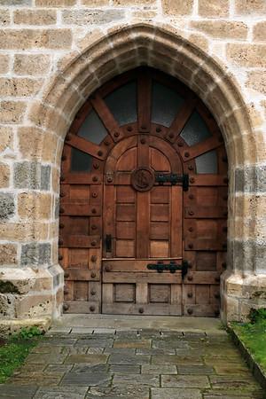 Northern Bell-Clock Tower Door -