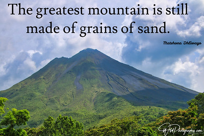 Life is grains of sand...