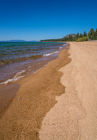 The Lake Tahoe Shoreline - Stateline, Nevada, USA