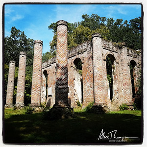 Old Sheldon Church Ruins - Beaufort, SC