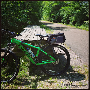 Bike Ride on Nickel Plate Trail - Peru, IN