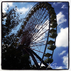 Ferris Wheel at Kentucky Fairgrounds - Louisville, KY
