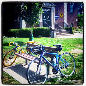 Bike Ride to Iroquois Library - Louisville, KY