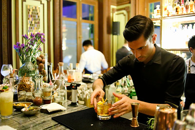Old Fashioned Concentration, Bar at The House on Sathorn, W Hotel, Bangkok