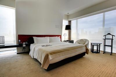 Le Meridien Bangkok, Master Bedroom