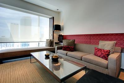 Le Meridien Bangkok, Suite Living Room