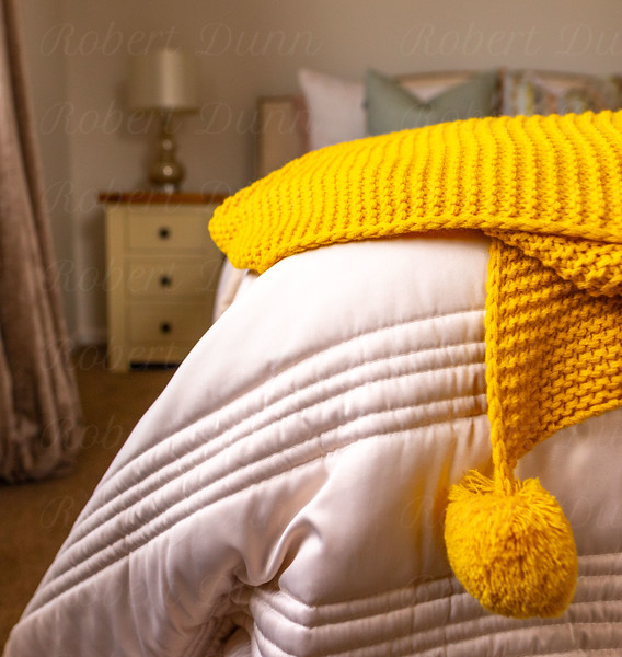 Bed close up