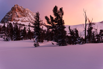 Intimate Sunset At Mammoth Lakes