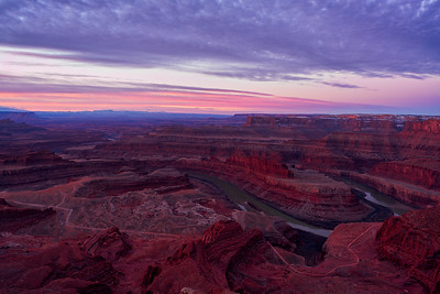 Dawn Light at Dead Horse Point