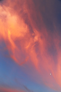 Moon & Sunset I