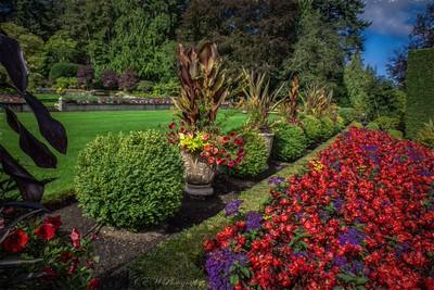Buchart Gardens - Victoria, Canada