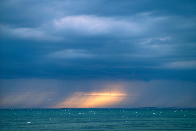 Rain Squall off Corn Hill