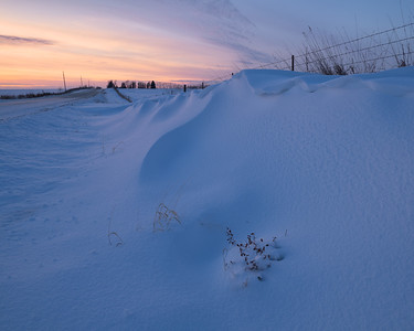 Country Road Snowdrift