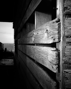 Untitled (Old Corncrib Details)
