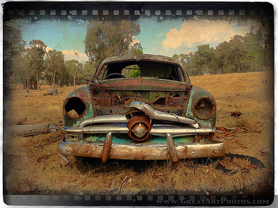 Old Ford Mercury Ute - Iphoneography by www.GreatArtPhotos.com - just for fun