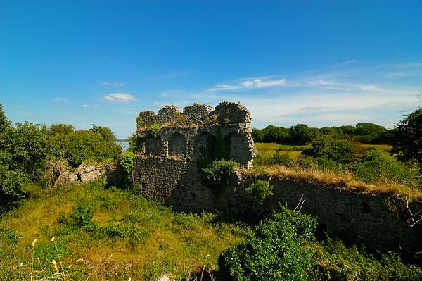 Rindoon Castle Ruins, Co. Roscommon, Ireland