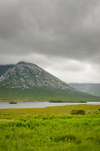Stormy Irish Mountain