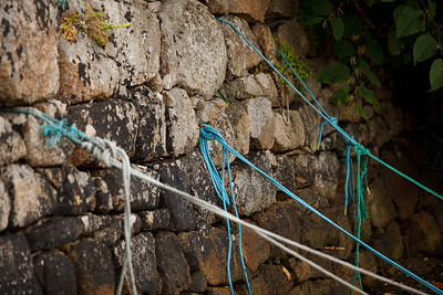 Harbor Ropes in Roundstone, Connemara Peninsula, County Galway, Ireland
