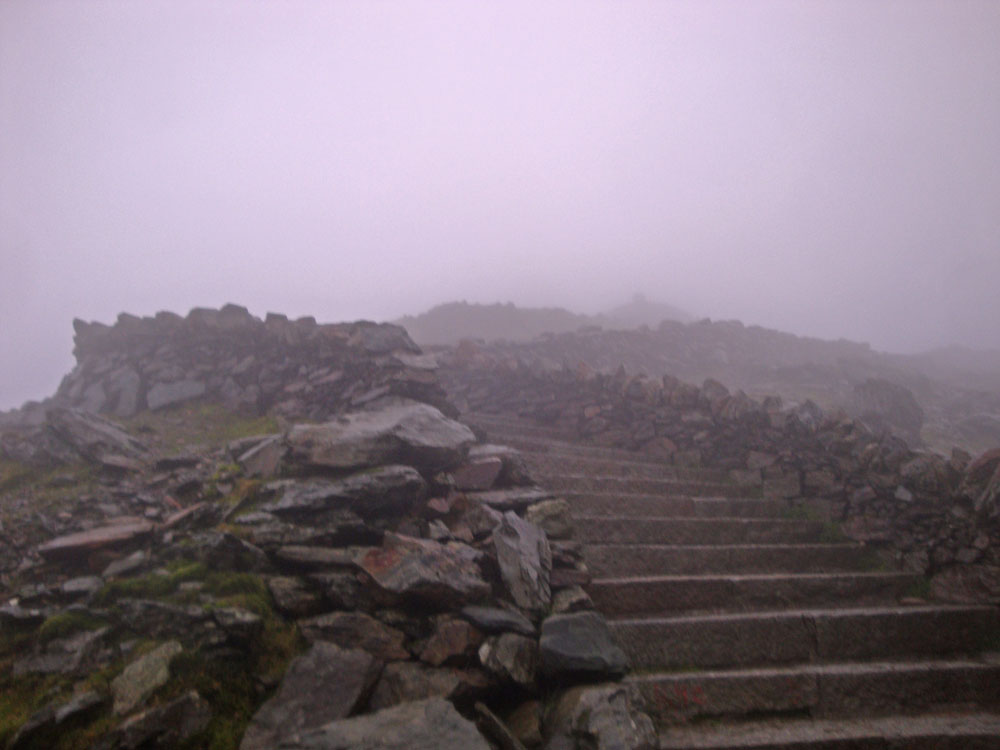 And at last, the summit cairn itself.