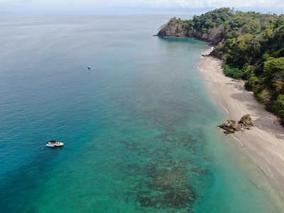 Tortuga Island Secluded Beach Paradise in Costa Rica