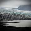 Vatnajökull. D'une superficie de 8 300 km21, soit plus de 95 % de celle de la Corse, le Vatnajökull couvre 8 % de la superficie de l'Islande. Son épaisseur maximale est d'environ 1 000 mètres.