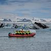C'est un lieu très prisé des touristes, qui y passent souvent sur la route 1. Il est possible d'y naviguer sur des bateaux amphibies ou sur des bateaux pneumatiques. Les premières excursions commerciales en bateau ont commencé en 1985. Guðbrandur Jóhannesson, qui possède et exploite aujourd'hui l'entreprise voyage Vatnajökull, a été le pionnier de cette activité. En deux ans, environ 5.000 passagers avaient déjà navigué sur deux petits navires que comprenait la compagnie. L'année suivante, un véhicule amphibie, le LARC -V, rejoint la flotte. La société Jökulsárlón EHF compte aujourd'hui une trentaine d'employés saisonniers, quatre bateaux amphibies, et accueille entre 60 000 et 70 000 passagers chaque année