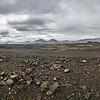 Les paysages lunaires proches du volcan Askja.