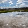 Hveravellir est un site géothermique islandais.<br /> Situé au centre du pays, entre les glaciers Langjökull et Hofsjökull, Hveravellir est accessible par la piste Kjalvegur (numéro 35)