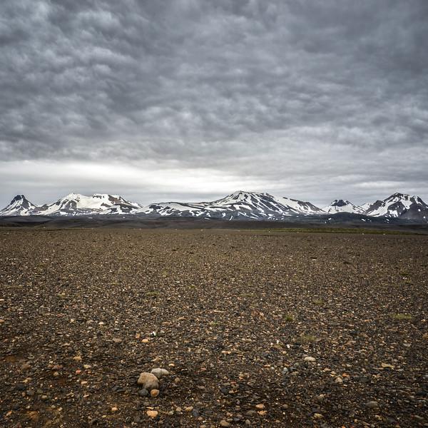 Les contreforts du Langjokull