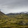 Le glacier de Snæfellsjökull a souvent été appelé le roi des montagnes islandaises. A 1446 mètres, on a longtemps pensé qu'il était la plus haute montagne du pays, et on pense que le pic a été atteint pour la première fois en 1754 par Eggert Ólafsson and Bjarni Pálsson.Certains pensent que le glacier fait partir de l'une des 7 plus grandes sources spirituelles au monde.
