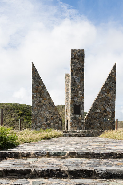 Monument at Point Udall, St. Croix